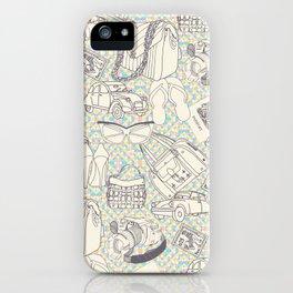 Paris Shopping iPhone Case