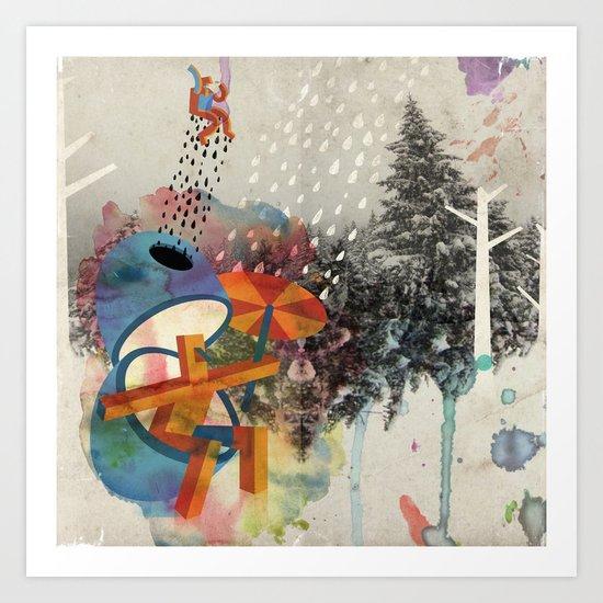 InvERsO Art Print