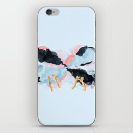 Endless happiness iPhone Skin