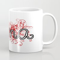 alabama Mugs featuring Alabama by Tanie