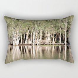 Duck Lake Rectangular Pillow