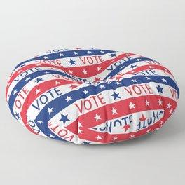 VOTE 2020 - voter pattern, voter mask, election,  Floor Pillow