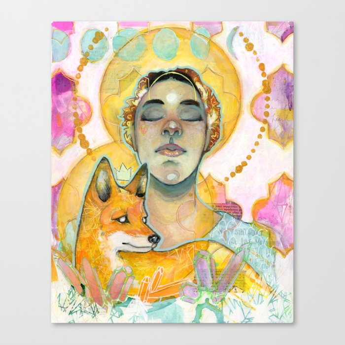 The Goddess and the Fox Leinwanddruck