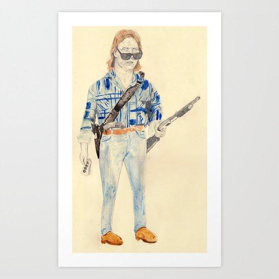 Nada | They Live   Art Print