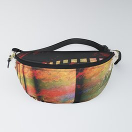 Film Art, abstract Fanny Pack