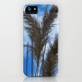 Tall Grasses iPhone Case