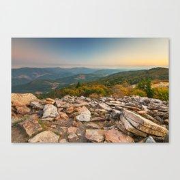 Spruce Knob Mountain Sunset Canvas Print