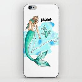 Pisces Mermaid iPhone Skin