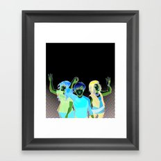 Three Zero Three Framed Art Print