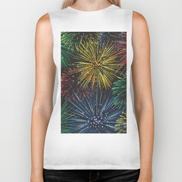 Fireworks in the Sky Biker Tank