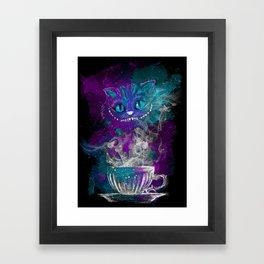 Chesire's tea Framed Art Print