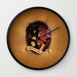 Witch of the Wilds Wall Clock