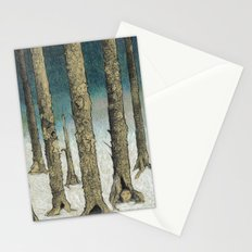 Snowy Woods Stationery Cards