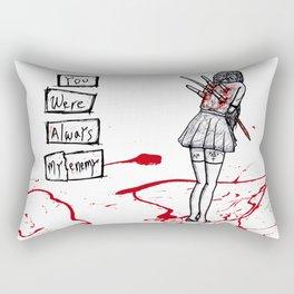Backstabber Rectangular Pillow