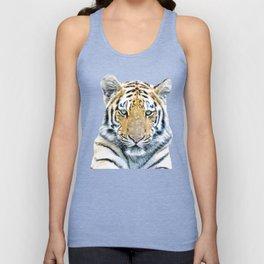 Tiger portrait Unisex Tank Top
