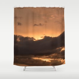 Costa Rican Sunset Shower Curtain