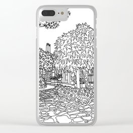 Snapshot in Collioure, France Clear iPhone Case