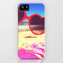 Heart lies with the Pacific iPhone Case