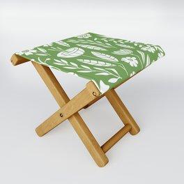 Blooming Field - green Folding Stool