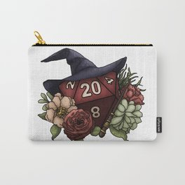 Wizard Class D20 - Tabletop Gaming Dice Carry-All Pouch