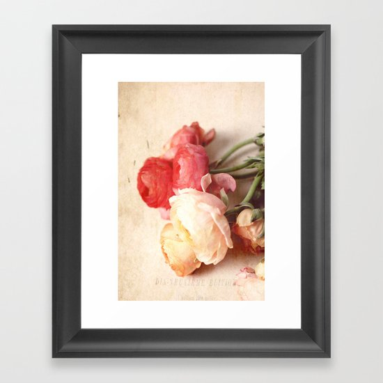 Romantic Heart Framed Art Print