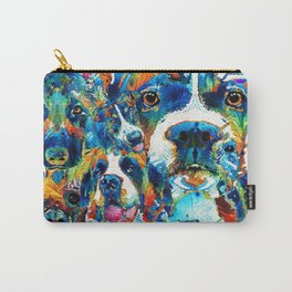 Dog Lovers Delight - Sharon Cummings Carry-All Pouch