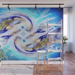 Waltzing in the Sky Wall Mural