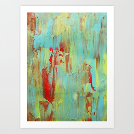 Abstract Painting 33 Art Print