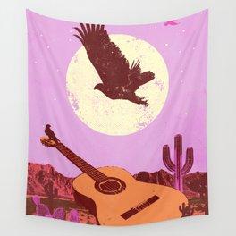 DESERT GUITAR Wall Tapestry