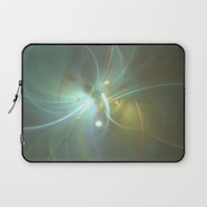 Holiday Glow Fractal Laptop Sleeve