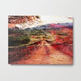 Lane Metal Print