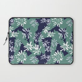 Abstract Inky Sunflowers Laptop Sleeve