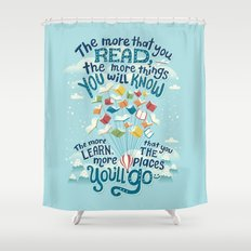 Go places Shower Curtain