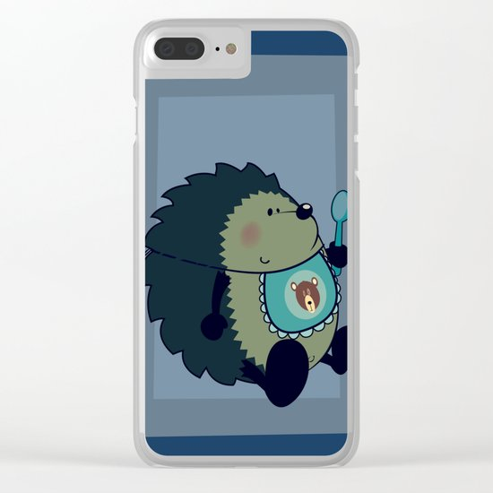 Yummy in my Tummy Clear iPhone Case