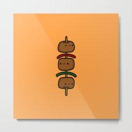 tasty kebab Metal Print