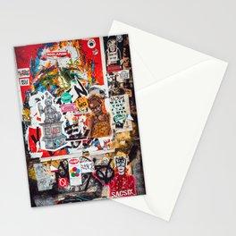 Graffiti Wall Stationery Cards