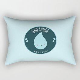 Sad Songs Rectangular Pillow
