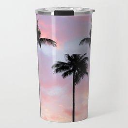 Palm Trees Sunset Photography Travel Mug