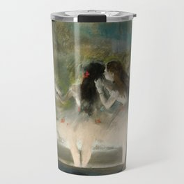 Edgar Degas - Ballet at the Paris Opéra, 1877 Travel Mug