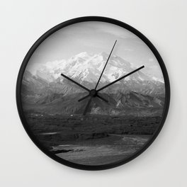 Mt McKinley Wall Clock