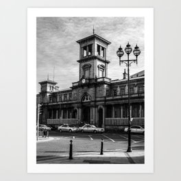 Connolly Station Art Print