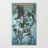 dishonored Canvas Prints featuring Biohonored by vicious mongrel