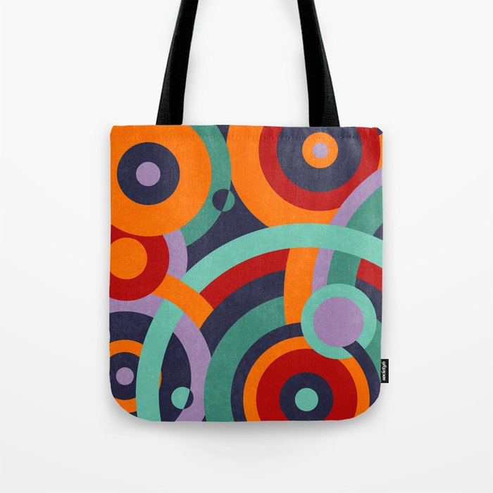 Colorful circles II Tote Bag