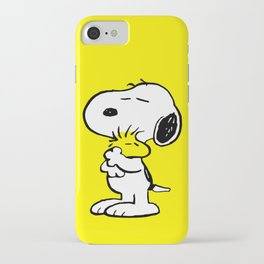 Snoopy and Woodstock iPhone Case