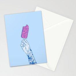 Brain ice cream! mmmmm Stationery Cards