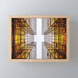 Emerging Skyscraper Framed Mini Art Print