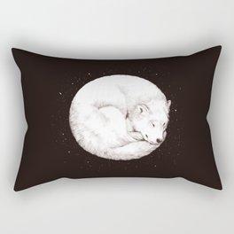 The Howl of the Moon Rectangular Pillow