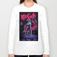 conan Long Sleeve T-shirts featuring Rad Sonja by Kyle Harlan