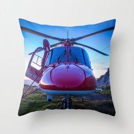 Air Rescue Throw Pillow