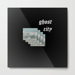 ghost city 1 Metal Print